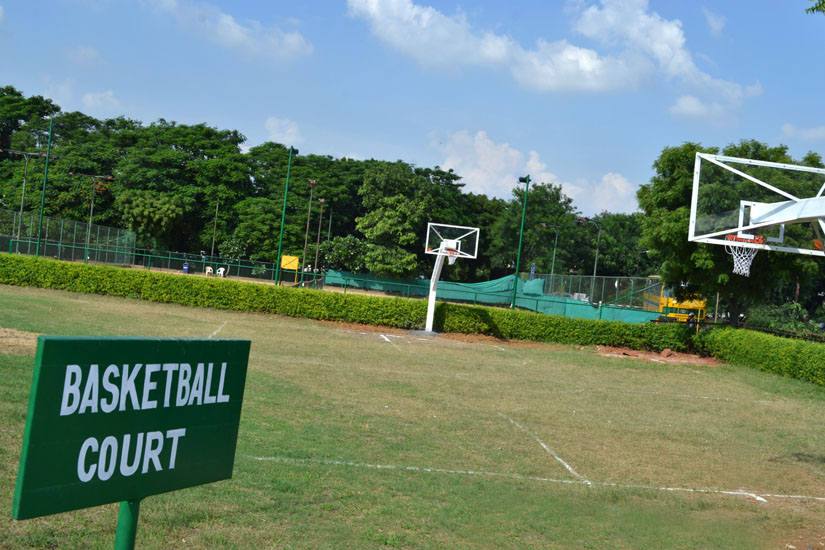 Basketball Court Facility is Available in HTC Sports
